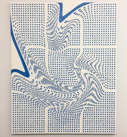 Joseph Parra at Brooklyn Brush, via Art Observed