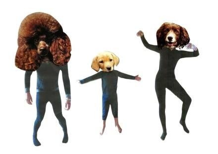 Mavin Gaye Chetwynd, Getting Dogsy (2016), via Liverpool Biennial