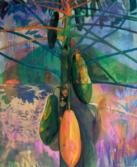 Che Lovelace, Tree with fruit (2016), via Eric Hussenot