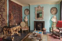 Howard Hodgkin's home, via NYT