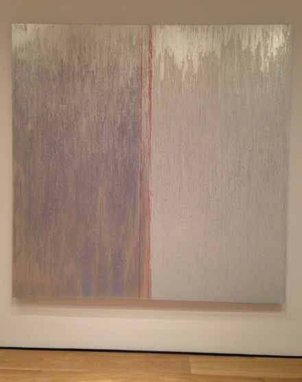 Pat Steir, Sweet Grey (2016 - 2017)