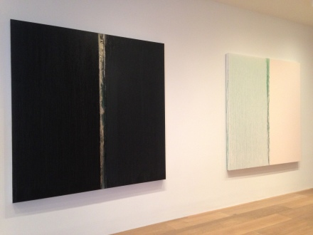 Pat Steir, Kairos (Installation View)
