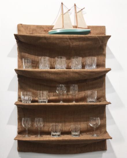 Jannis Kounellis at Michael Werner, via Art Observed