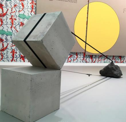 Jose Davila at Travesia Cuatro, via Art Observed