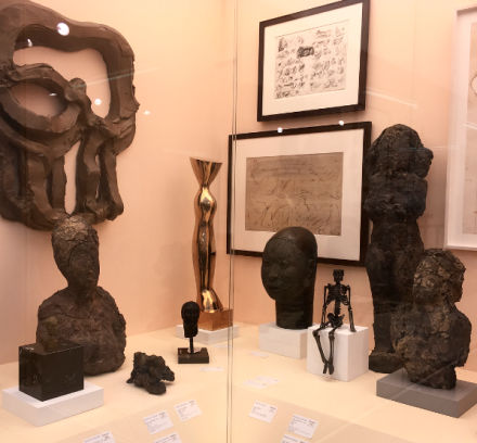Hauser and Wirth's Bronze Age Show, via Art Observed