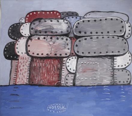 Philip Guston, Odessa (1977), via Sothebys