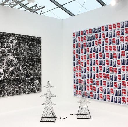 Work on via at Gavin Brown's Enterprise, via Art Observed