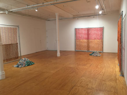 Amy Yao, Weeds of Indifference (Installation View), via Art Observed