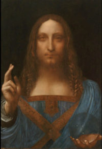 Leonardo da Vinci, via Art News