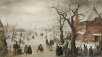 Hendrick Avercamp, via WBUR