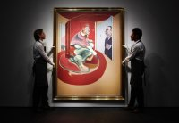 Francis Bacon in London, via NYT