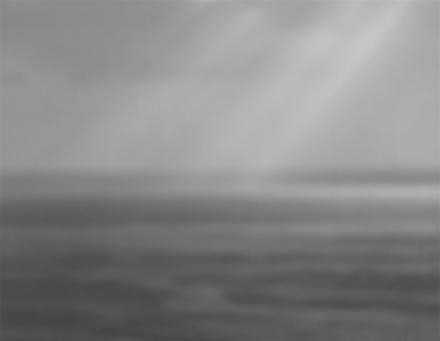 Hiroshi Sugimoto, Bay of Sagami, Atami (1997), via Marian Goodman