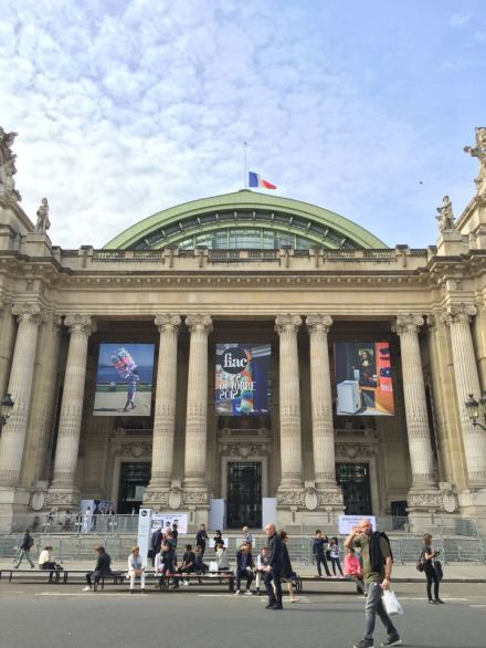 Outside the Grand Palais, via Art Observed