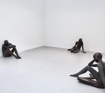 Ugo Rondinone at Sadie Coles HQ, via Art Observed