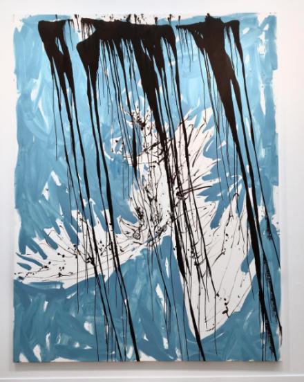 Georg Baselitz at Skarstedt, via Art Observed