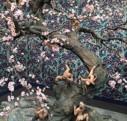 Raqib Shaw at Pace Gallery, via Art Observed