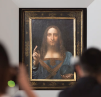 Leonardo da Vinci's Salvator Mundi, via The Guardian