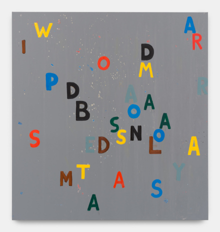 Walter Swennen, Demasiadas Palabras (2017)  all images Copyright Walter Swennen Courtesy the artist and Gladstone Gallery, New York and Brussels.
