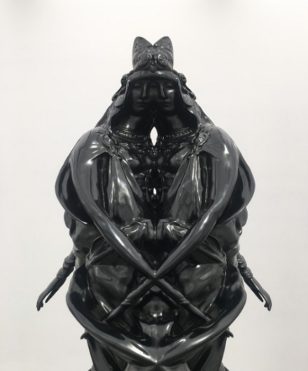 Wim Delvoye, Carthage Rorschach (2016), via Art Observed