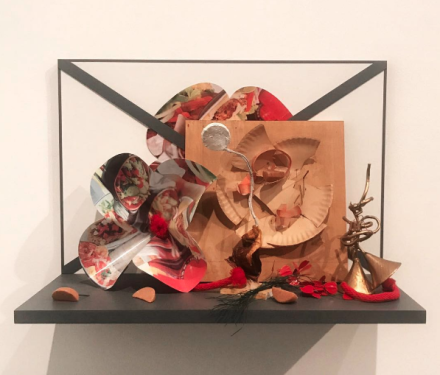 Oldenburg van Bruggen, Shelf Life (Installation View, via Art Observed.