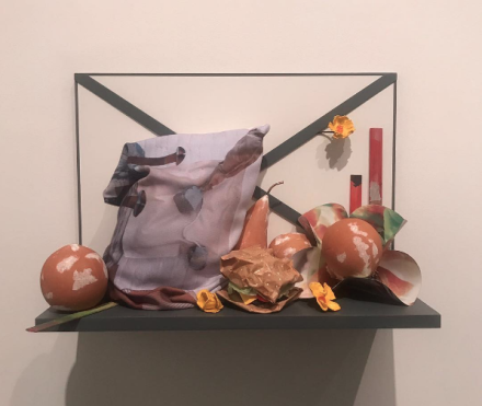 Oldenburg van Bruggen, Shelf Life (Installation View, via Art Observed