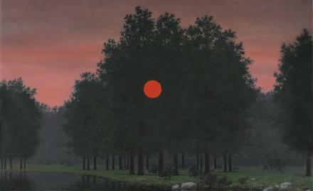 Rene Magritte, Le Banquet (1955-57), via Sotheby's