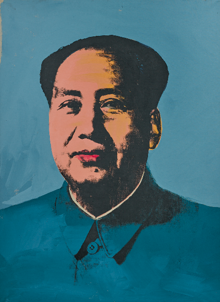 Andy Warhol, Mao (1972), via Sotheby's