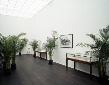 Marcel Broodthaers, Un Jardin d'Hiver (1974), via Hauser & Wirth