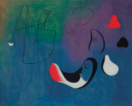 Joan Miró, Peinture (1933), via Christie's