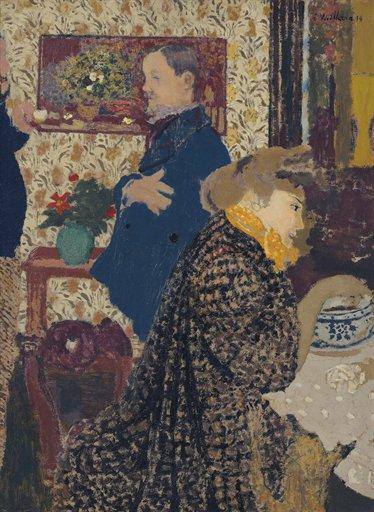 Edouard Vuillard, Misia et Vallotton a Villeneuve (1899), via Christies