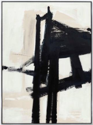 Franz Kline, Light Mechanic (1960) final price $20,562,500, via Christie's