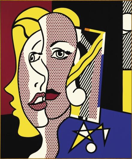 Roy Lichtenstein, Female Head (1977) final price $24,501,500, via Sothebys