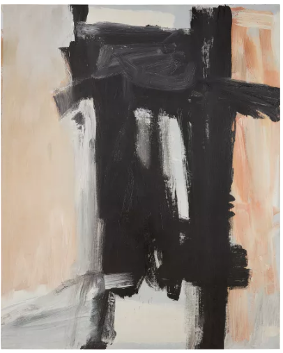 Franz Kline, Sawyer (1959), final price $9,990,000, via Phillips