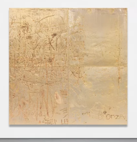 Rudolf Stingel, Untitled (2012), final price $6,390,000, via Phillips