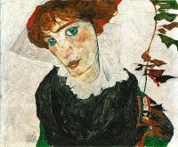 Egon Schiele, Portrait of Wally Neuzil, via Art Newspaper