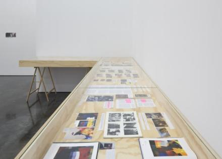 Thomas Hirschhorn, DE-PIXELATION (Installation View), via Gladstone Gallery.