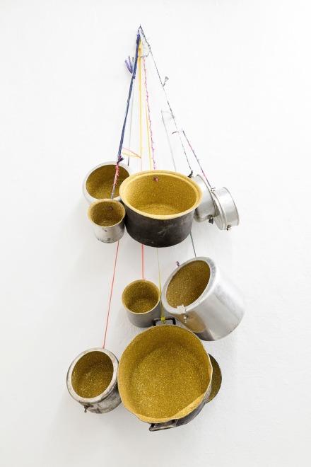 Pascale Marthine Tayou, Ritual Pots (2017), via A Gentil Carioca