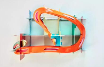 Frank Stella, Leeuwarden I (2017), via Marianne Boesky