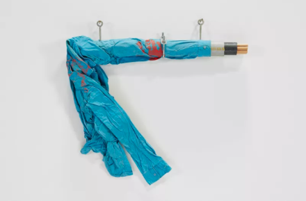 Jimmie Durham, Its My Shirt (1993), via Kurimanzutto