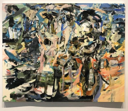 Cecily Brown, A Day! Help! Help! Another Day! (Installation View), via Art Observed
