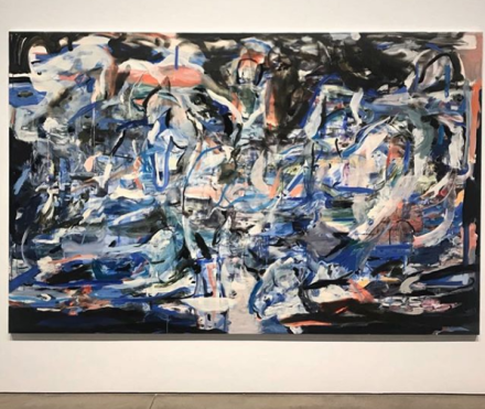 Cecily Brown, Sirens and Shipwrecks and Bathers and the Band (2016), via Art Observed