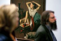 Balthus, via Art Newspaper