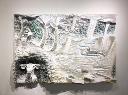Lin May Saeed, via Art Observed