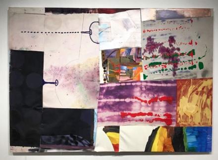 Molly Zuckerman Hartung at Rachel Uffner, via Art Observed