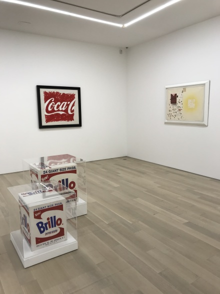 Installation view from Words Without Thoughts Never to Heaven Go at Almine Rech Gallery