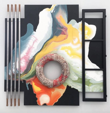 Lucy and Jorge Orta at Jane Lombard, via Art Observed