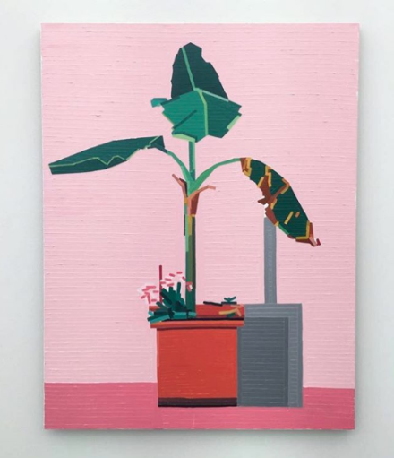 Guy Yanai at Conrads, via Art Observed