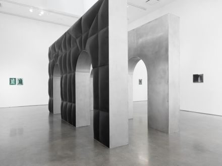 Dean Levin, Arches (Installation View), via Marianne Boesky
