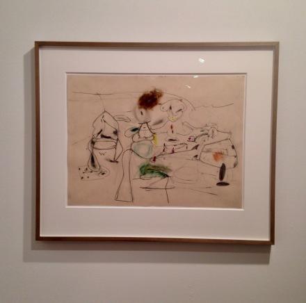 Arshile Gorky, Untitled (ca. 1944-45)
