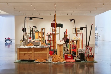 Jason Rhoades, My Brother/Brancuzi, 1995. Installation view, Jason Rhoades. Installations, 1994 –2006, Hauser & Wirth Los Angeles, 2017.© The Estate of Jason Rhoades. Courtesy The Estate of Jason Rhoades, Hauser & Wirth and David Zwirner, New York/London. Photo: Fredrik Nilsen